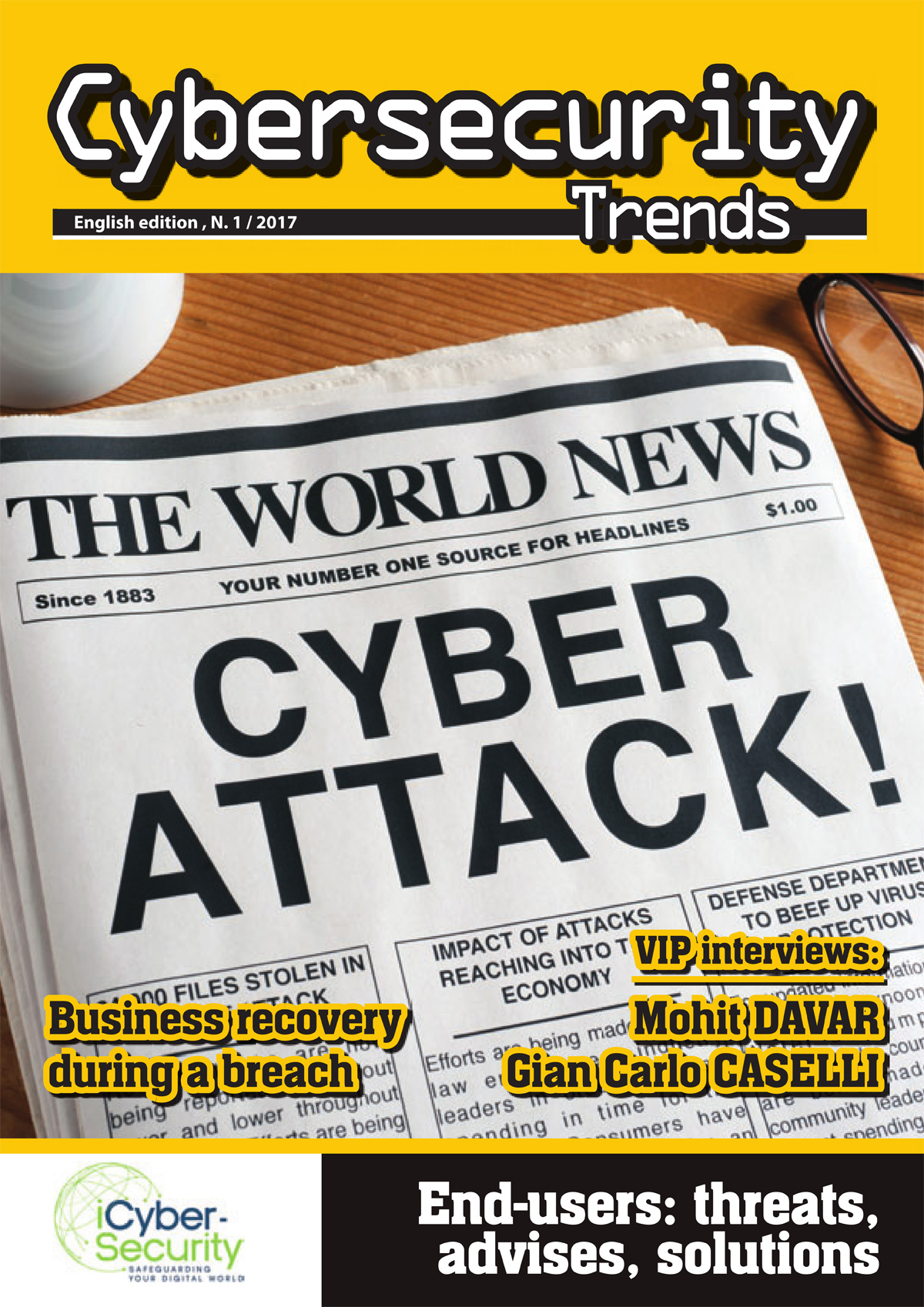 Cybersecurity TrendsNo 1 UK 2017